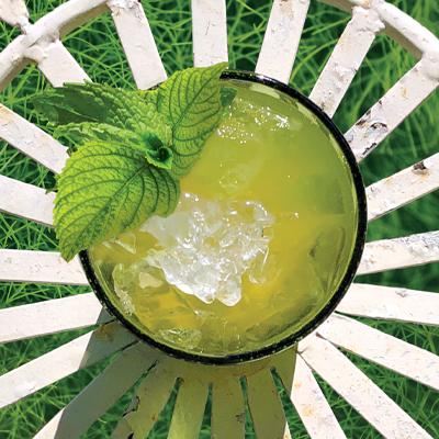 Kikoko MO-TEA-TO Canna cocktail