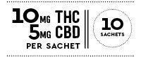 Tea with 10mg THC and 5mg CBD