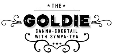 The Goldie- cannabis-infused cocktail replacement with Sympa-Tea