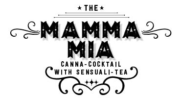The Mama Mia - cannabis-infused cocktail replacement with Sympa-Tea