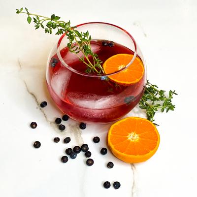 Canna-cocktail Sin + Tonic